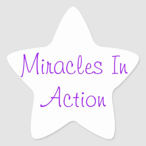 Miracles In Action Stickers