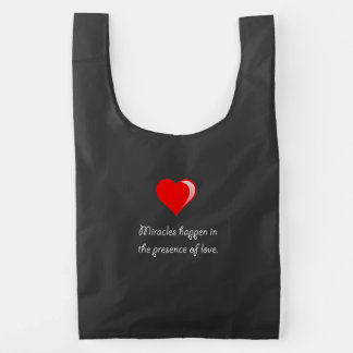 Miracles Love Reusable Bag
