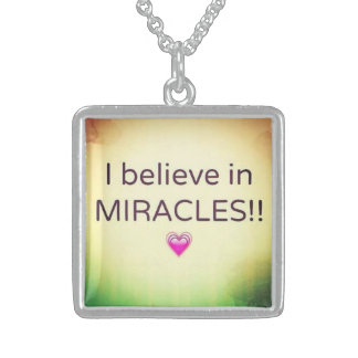 miracles personalized necklace