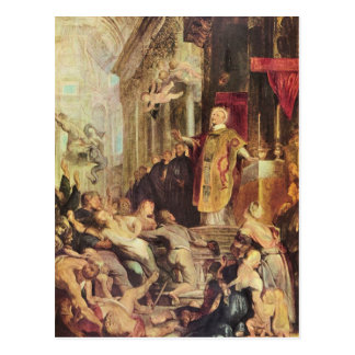 Miracles of St. Ignatius of Loyola by Paul Rubens Postcard