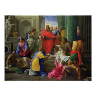 Miracles of St. Paul at Ephesus, 1693 Poster