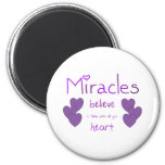 Miracles Refrigerator Magnets