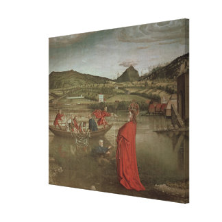 Miraculous Draught of Fishes Canvas Print