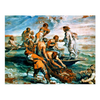 Miraculous Draught of Fishes Postcard