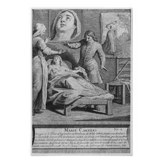 Miraculous healing of a blind woman poster