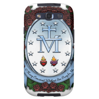 Miraculous Medal 2 Samsung Galaxy S3 Case