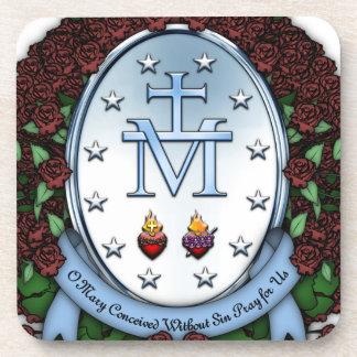 Miraculous Medal 2 Coasters