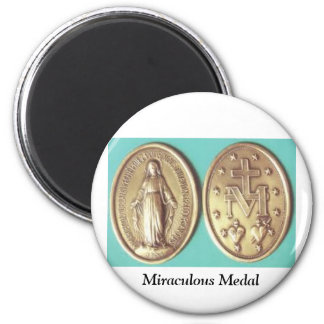 Miraculous Medal 2 Inch Round Magnet