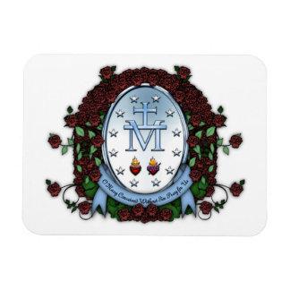 Miraculous Medal 2 Rectangular Photo Magnet