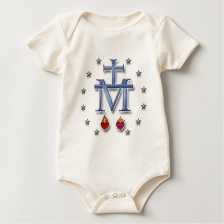 Miraculous Medal Baby Bodysuit