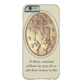 miraculous medal barely there iPhone 6 case