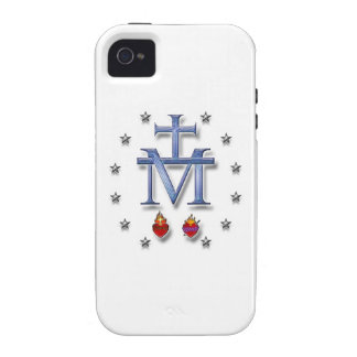 Miraculous Medal iPhone 4 Cases