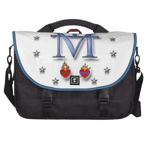 Miraculous Medal Laptop Commuter Bag