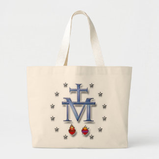 Miraculous Medal Large Tote Bag