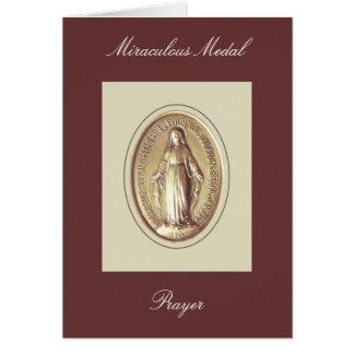 Miraculous Medal Prayer Card