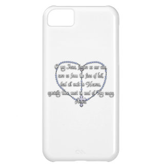 Miraculous Medal Rosary - Fátima Prayer iPhone 5C Cover
