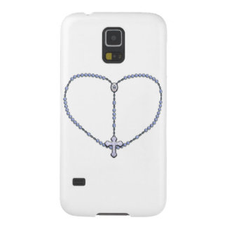 Miraculous Medal Rosary Galaxy S5 Case