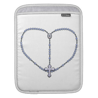 Miraculous Medal Rosary Sleeve For iPads