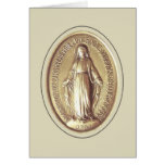 Miraculous Medal Stationery Note Card