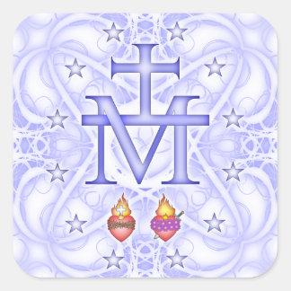 Miraculous Medallion Square Sticker