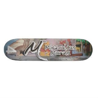 miraculous murals board custom skate board