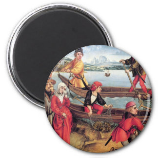 Miraculous salvation of a drowned boy 2 inch round magnet