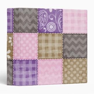 Mirada acolchada rosa clara, púrpura, y de color t