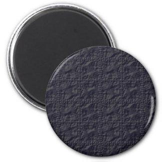 Mirada adaptable de la arruga del azul de acero imán