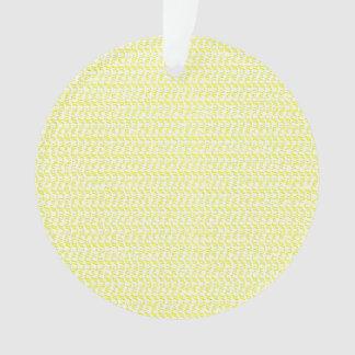 Mirada amarilla cremosa de la armadura