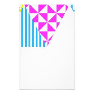 Mirada azteca loca de los años 80 de la diversión papelería de diseño
