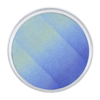 Mirada azul clara de la arena del brillo de Ombre Insignia Plateada