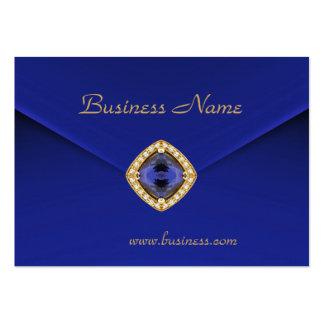 Mirada azul rica del terciopelo del negocio de la  tarjeta de visita