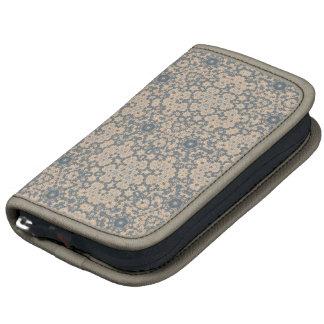 Mirada azul y beige de la tapicería