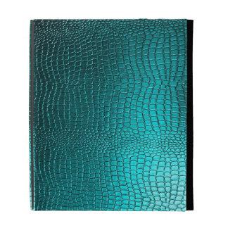 Mirada azulverde del cuero de Snakeskin