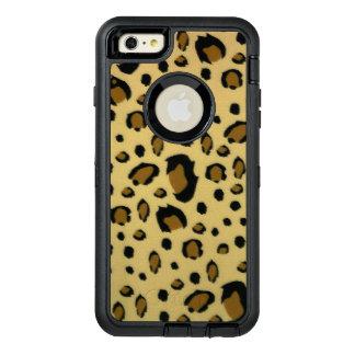 Mirada cepillada puntos de la textura de la piel funda otterbox para iPhone 6/6s plus