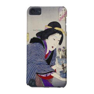 Mirada como si ella quiera cambiar: El aspecto Funda Para iPod Touch 5G