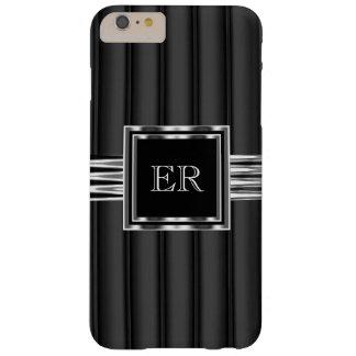 Mirada con clase elegante del cromo del metal funda para iPhone 6 plus barely there