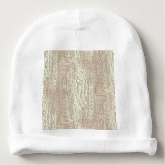 Mirada costera sometida del grano de madera de gorrito para bebe