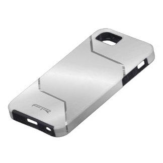 Mirada de acero Diseño-Inoxidable metálica de los iPhone 5 Cárcasas