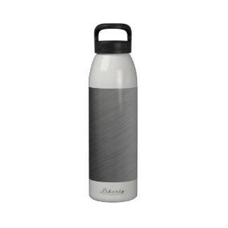 Mirada de aluminio cepillada del metal botella de agua