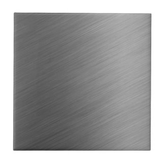 Mirada de aluminio cepillada del metal azulejo cuadrado pequeño