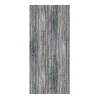 Mirada de bambú curtida tarjeta publicitaria