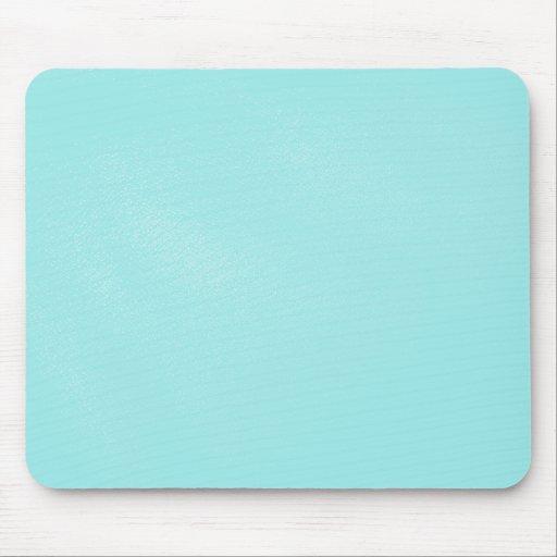Mirada de cuero azul en colores pastel alfombrillas de ratón