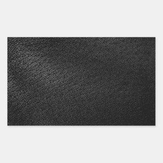 Mirada de cuero negra rectangular altavoces