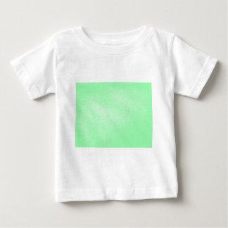 Mirada de cuero verde de la aguamarina en colores playera