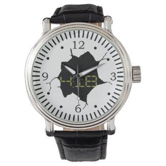 Mirada de Digitaces del vintage Relojes