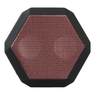Mirada de la armadura del rojo de vino altavoces bluetooth negros boombot REX