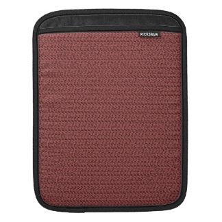 Mirada de la armadura del rojo de vino fundas para iPads