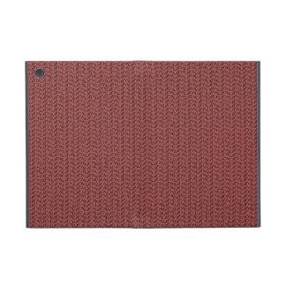Mirada de la armadura del rojo de vino iPad mini cárcasas