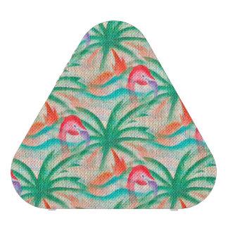 Mirada de la arpillera de la palmera del flamenco altavoz bluetooth